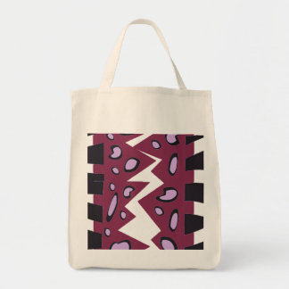 ABSTRACT DESIGN IN BLUE AND GREENS   TOTE BAG