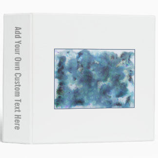 Abstract Design in Blue. Binder