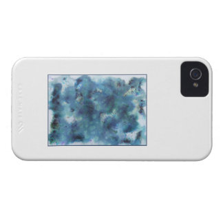 Abstract Design in Blue. Case-Mate iPhone 4 Case