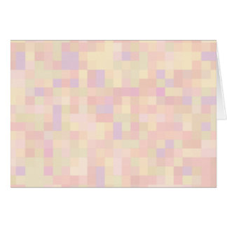 Abstract Design in Pastel Colors. Greeting Card
