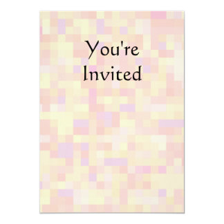Abstract Design in Pastel Colors. 5x7 Paper Invitation Card