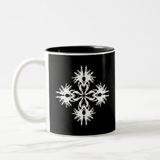 Abstract Design in White Coffee Mug