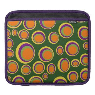 Abstract design iPad sleeves