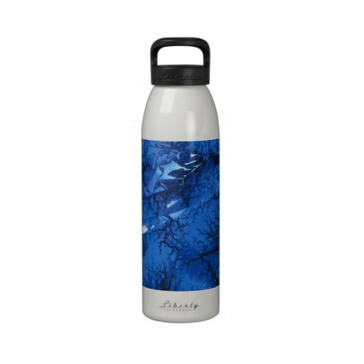 Abstract Design Liberty Bottle Drinking Bottle