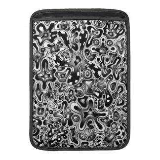 abstract design macbook sleeve