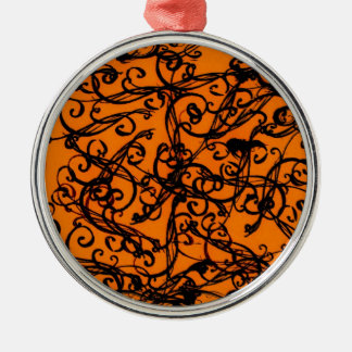 Abstract Design Metal Ornament