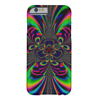 Abstract Design Multi Color Floral Design Barely There iPhone 6 Case