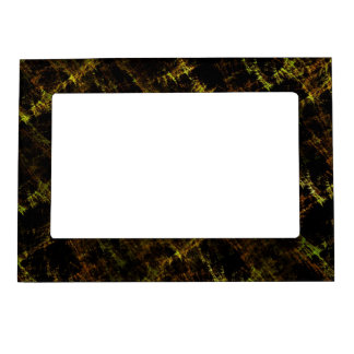 """Abstract Design """"name lot """" Magnetic Photo Frame"""