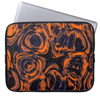 Abstract Design on Neoprene Laptop Sleeve 15 inch