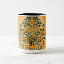 Abstract-Design_Orange-Supreme (c)__Unisex Two-Tone Coffee Mug