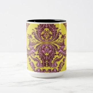 Abstract-Design-Palace-Vintage (c)__Unisex Two-Tone Coffee Mug
