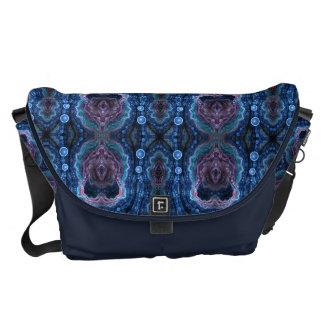 abstract design pattern fractal courier bag