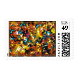 Abstract Design Postage Stamps