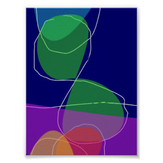 Abstract Design Poster