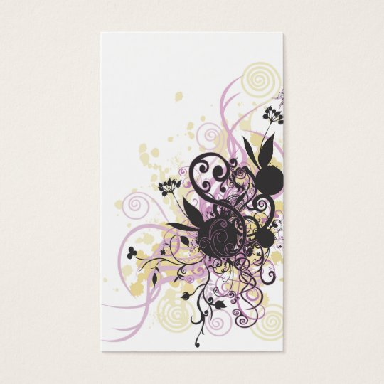 Abstract design Profile Card