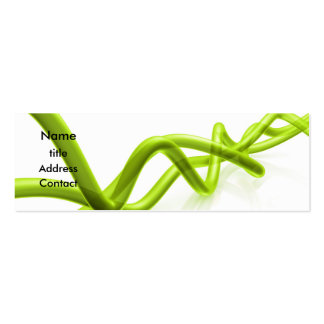 Abstract Design - Profile Card Business Cards