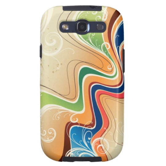 Abstract Design Samsung Galaxy S3 Vibe Case