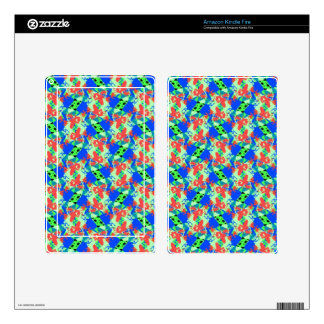 Abstract Design Series ab Kindle Fire Skin