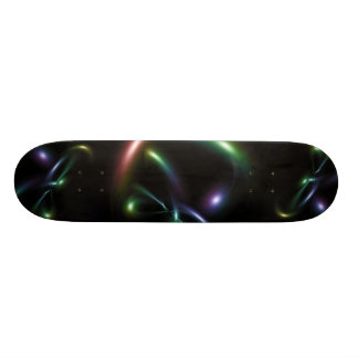 Abstract design skate boards