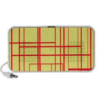 Abstract Design Travelling Speaker