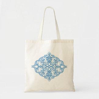 Abstract Design : Textile Print Tote Bag