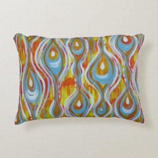 Abstract design throw pillow