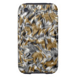 Abstract design tough iPhone 3 cover