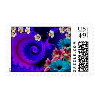 Abstract Design V.2 Postage Stamp