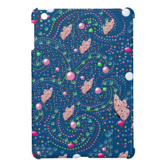 abstract design with butterflies cover for the iPad mini