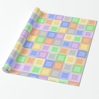 Abstract design wrapping paper