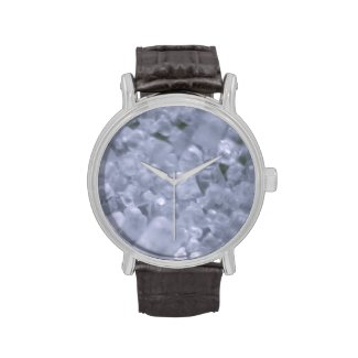 abstract design wrist watch