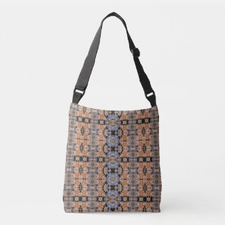 Abstract Designed - Earth Tones - Cross Body Bag