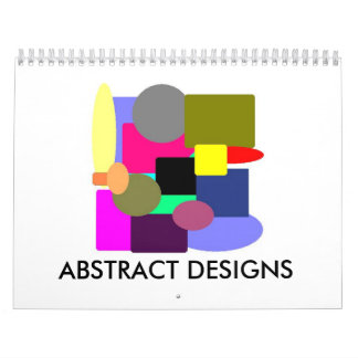 ABSTRACT DESIGNS CALENDAR