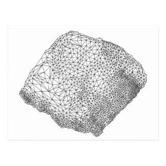 abstract detailed geometric design postcards