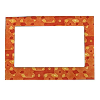 ABSTRACT DIAGONAL STRIPE MAGNETIC FRAME