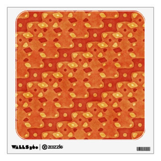 ABSTRACT DIAGONAL STRIPE WALL STICKER