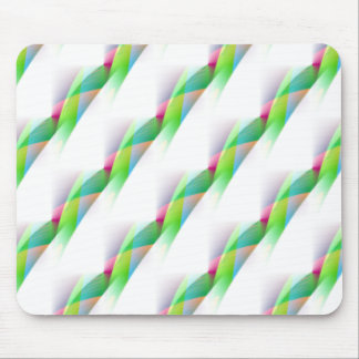 Abstract Diagonal Stripes Mouse Pad
