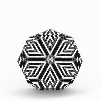 Abstract Diamond Pattern Award