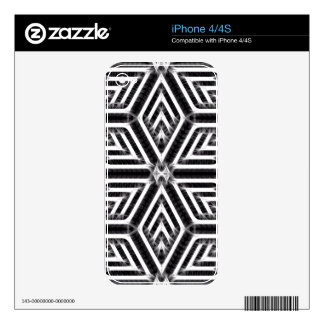 Abstract Diamond Pattern iPhone 4S Skins