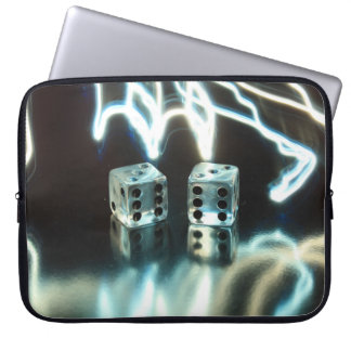 Abstract Dice 2 Laptop Sleeve