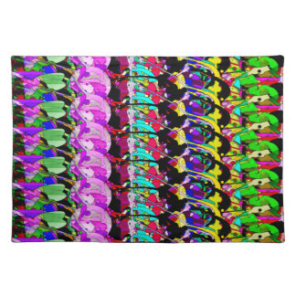 Abstract Digital Art 3 Cloth Placemat