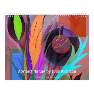 Abstract Digital Art Julie Richman Calendar