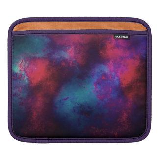 Abstract Digital Galaxy iPad Sleeve