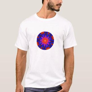 Abstract Digital Kaleidoscope Star T-Shirt