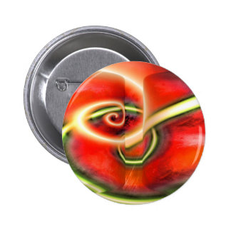 Abstract Digital Painting Button