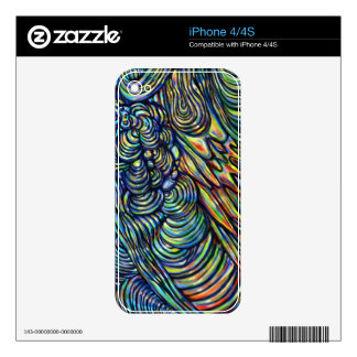 """Abstract Digital painting- """"In Between"""" Decal For The iPhone 4S"""