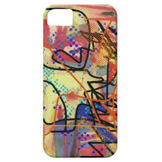 abstract  digital painting iPhone SE/5/5s case