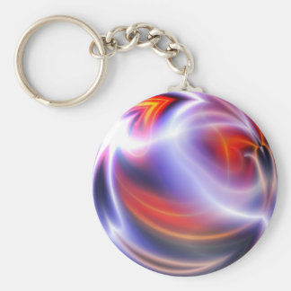 Abstract Digital Painting Keychain
