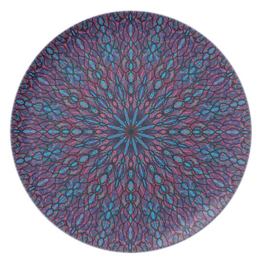 Abstract Dinner Plate (3)