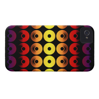 Abstract Discs of Pottery Case-Mate iPhone 4 Cases